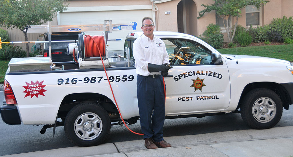 Specialized Pest Patrol is a Licensed and Insured Pest Control Company Serving Roseville
