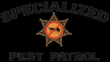 Pest Control Sacramento Company, Specialized Pest Patrol Logo